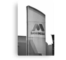 Bank Mega office tower Canvas Print