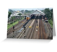 kiaracondong train station Greeting Card