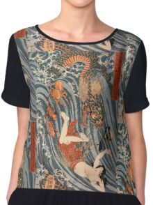 Man vs. Dragon 2 Chiffon Top