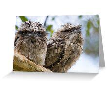 Siblings Greeting Card