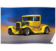 1930 Ford Model A Pick-Up 1 Poster