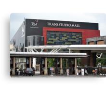 Trans Studio Mall Canvas Print