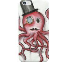 Sir Octopus in Watercolor iPhone Case/Skin