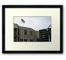 Bank Mega office tower Framed Print
