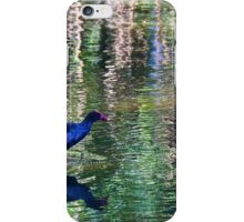 Wading through the ripples iPhone Case/Skin