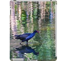 Wading through the ripples iPad Case/Skin