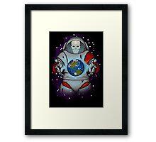 Dead in Space Framed Print