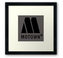 Motown Framed Print