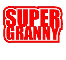 Super Granny hero Logo by Style-O-Mat