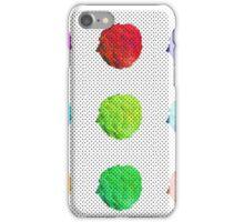 Coloured Broccoli iPhone Case/Skin