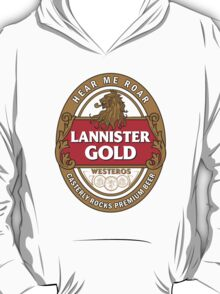 Lannister Gold T-Shirt