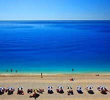 Deep blue - Egremni beach, Lefkada island by Hercules Milas