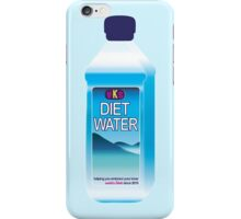 Diet Water Bottle iPhone Case/Skin