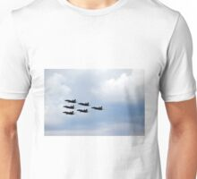 Blue Angels in formation Unisex T-Shirt