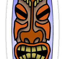 Tiki Surfboard Sticker