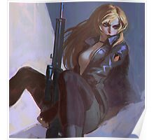 Sniper Wolf Poster
