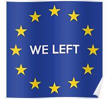 UK in Europe Poster