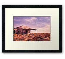 outback home Framed Print