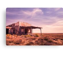 outback home Canvas Print