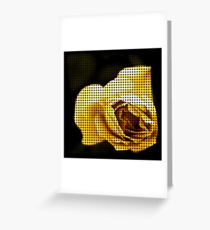 Spotted Rose Greeting Card