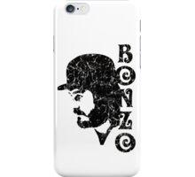 DISTRESSED BLACK BONZO iPhone Case/Skin