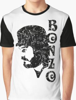 DISTRESSED BLACK BONZO Graphic T-Shirt