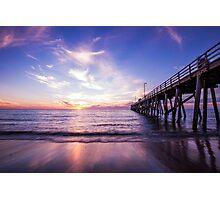 Semaphore Jetty South Australia Photographic Print