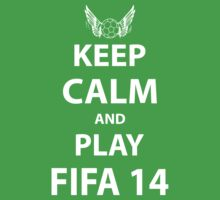 Keep Calm And Play Fifa 2014 T-Shirt