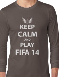 Keep Calm And Play Fifa 2014 Long Sleeve T-Shirt