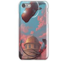 Whale v squid iPhone Case/Skin