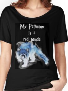My Patronus is a Red Panda Women's Relaxed Fit T-Shirt