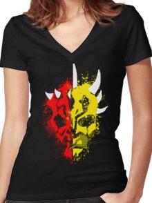 Sons of Dathomir Women's Fitted V-Neck T-Shirt