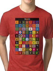Trojan records Collections Tri-blend T-Shirt