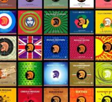 Trojan records Collections Sticker