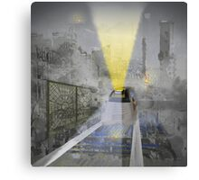 Last Train Out - Anne Winkler Canvas Print