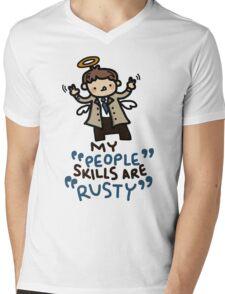 """""""rusty"""" Mens V-Neck T-Shirt"""