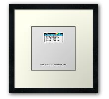 ZX Spectrum 128K Framed Print