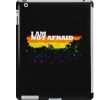 I am not afraid iPad Case/Skin