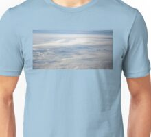 Mountain Peaks Poking Through the Clouds Unisex T-Shirt