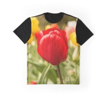 Springtime Tulips Graphic T-Shirt