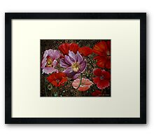 The Poppy Collective Framed Print