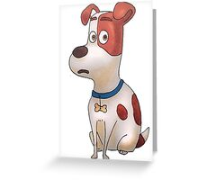 The secret life of pets - Max Greeting Card