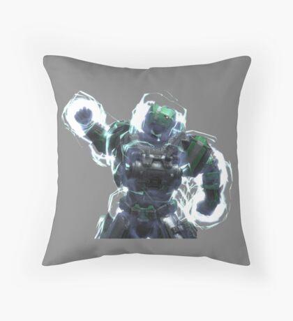 Fuck Yeah Armor Lock P/B - Grey Throw Pillow