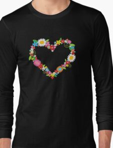 Spring Flowers Power Long Sleeve T-Shirt