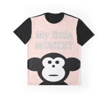 My Little Monkey Graphic T-Shirt