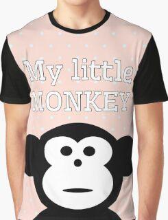 My Little Monkey Graphic T-Shirt