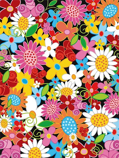 Spring Flowers Power by fatfatin