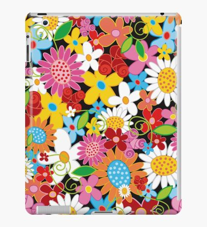 Spring Flowers Power iPad Case/Skin