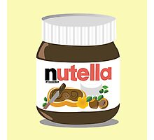 Warming Nutella Photographic Print