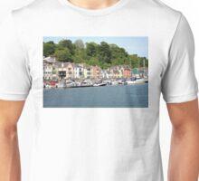 Houses Along the River Dart Unisex T-Shirt